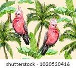 beautiful seamless vector... | Shutterstock .eps vector #1020530416
