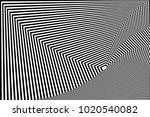 abstract black and white... | Shutterstock .eps vector #1020540082