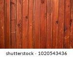rustic background of wooden... | Shutterstock . vector #1020543436