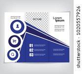 business brochure design   Shutterstock .eps vector #1020557926
