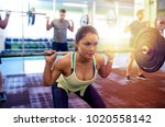 fitness  sport  training ... | Shutterstock . vector #1020558142