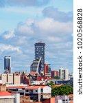 skyline of santa cruz de la... | Shutterstock . vector #1020568828