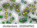 light colored vector background ... | Shutterstock .eps vector #1020569962