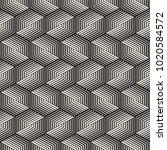 vector seamless stripes pattern.... | Shutterstock .eps vector #1020584572