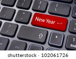 new year greetings or business concepts. - stock photo