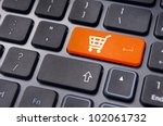 online shopping or internet... | Shutterstock . vector #102061732