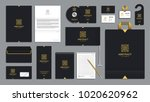 corporate identity branding... | Shutterstock .eps vector #1020620962