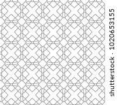 seamless ornamental vector... | Shutterstock .eps vector #1020653155