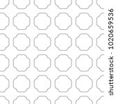 seamless vector pattern in... | Shutterstock .eps vector #1020659536