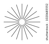 vintage sunburst design vector...   Shutterstock .eps vector #1020685552