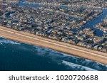 Aerial View Of California Ocea...