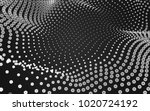 abstract polygonal space low... | Shutterstock . vector #1020724192