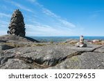the horizontal picture of  the... | Shutterstock . vector #1020729655