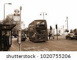 london england  oct 11  ...   Shutterstock . vector #1020755206