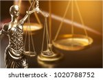 law or justice concept | Shutterstock . vector #1020788752