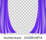 abstract ultar violet... | Shutterstock .eps vector #1020814876