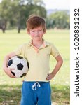 young little kid 7 or 8 years... | Shutterstock . vector #1020831232