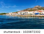 the town of bol on the island... | Shutterstock . vector #1020872332