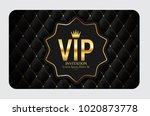 luxury members  gift card... | Shutterstock .eps vector #1020873778