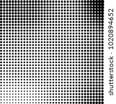 halftone black and white... | Shutterstock .eps vector #1020894652
