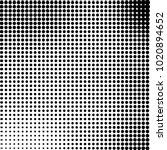 halftone black and white... | Shutterstock .eps vector #1020894652