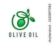 olive oil logo | Shutterstock .eps vector #1020897082
