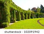 Garden Archway In Bloom  ...
