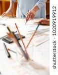 interior designers working on...   Shutterstock . vector #1020919912