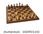 photos of chess openings.... | Shutterstock . vector #1020921142