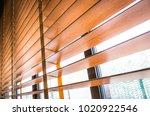 pattern of the wooden shutters... | Shutterstock . vector #1020922546