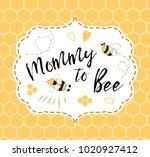 baby shower invitation template ...   Shutterstock .eps vector #1020927412