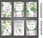 minimal vector covers set....   Shutterstock .eps vector #1020960916