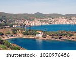 spain. catalonia. cadaques on... | Shutterstock . vector #1020976456