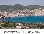 spain. catalonia. cadaques on... | Shutterstock . vector #1020976462