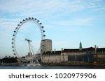 london england  oct 11  ...   Shutterstock . vector #1020979906