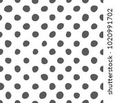 black and white doodle... | Shutterstock .eps vector #1020991702