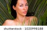 sexy beautiful woman sunbathing ...   Shutterstock . vector #1020998188