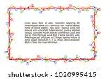 vector illustration of light... | Shutterstock .eps vector #1020999415