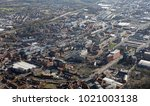 Aerial View Of Bolton Town...
