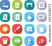 flat vector icon set   chemical ... | Shutterstock .eps vector #1021028272