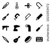 solid vector icon set  ... | Shutterstock .eps vector #1021053472