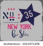 slogan vector print | Shutterstock .eps vector #1021071358