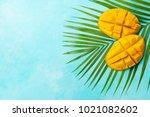 Fresh Mango Organic Product On...
