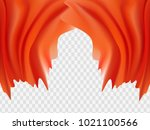 abstract red. background vector ... | Shutterstock .eps vector #1021100566