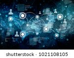 2d illustration business... | Shutterstock . vector #1021108105