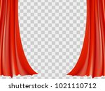 abstract red. background vector ... | Shutterstock .eps vector #1021110712