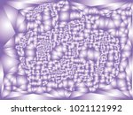 abstract violet background with ... | Shutterstock .eps vector #1021121992