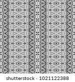 ethnic tile. pattern from... | Shutterstock . vector #1021122388