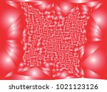 abstract red background with... | Shutterstock .eps vector #1021123126