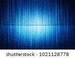 2d digital abstract business... | Shutterstock . vector #1021128778